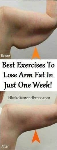 BEST EXERCISES TO LOSE ARM FAT IN JUST ONE WEEK! #armworkoutlosearmfat