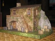 An Italian Country House Free Building Paper Model Download