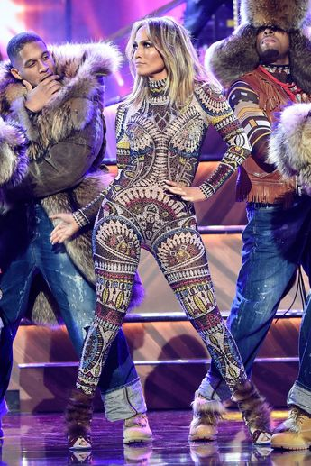 819036c885d This Has to Be a Record  Jennifer Lopez Wore 12 Outfits Last Night. See