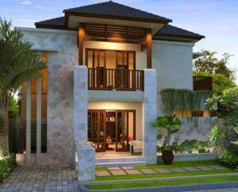 denah rumah minimalis modern 2 lantai kolam renang 3d