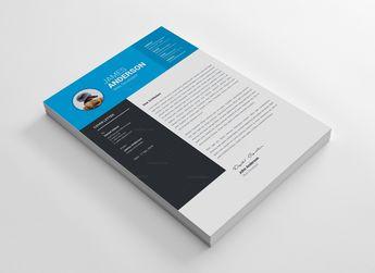 Hamburg Professional Resume Design Template - Graphic Templates