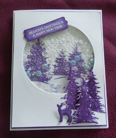 """PENNY TOKENS STAMPIN SPOT: WWC171 - Heidi's """"All About Christmas"""" Challenge"""
