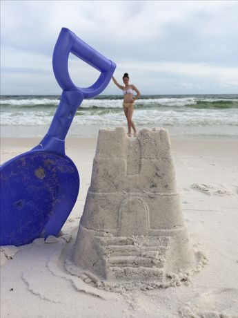 Beach sand fun! Want to do this!!! More