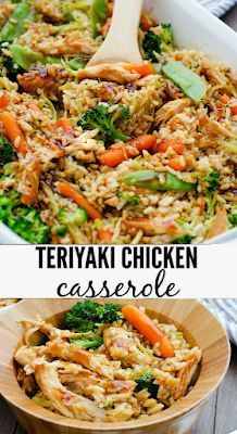 Chicken Casserole Teriyaki - RECIPE OF FOOD - Healthy Recipes