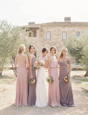 The Most Romantic & Elegant Bridesmaid Dresses