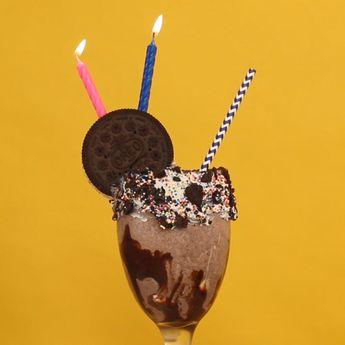 Birthday Cake Milkshake Recipe #dessert