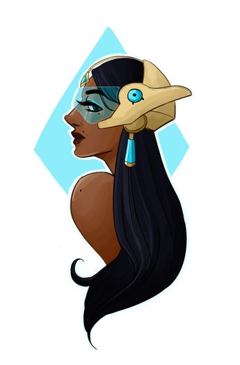 (I really love playing Symmetra (despite the hate...)