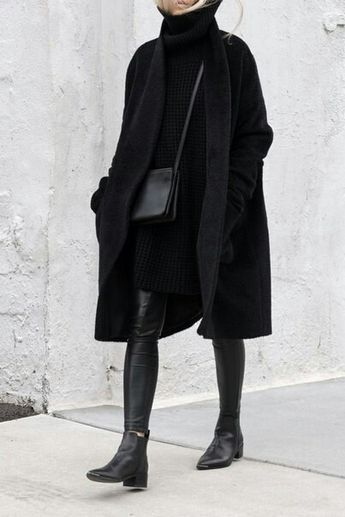 Black never is trendy or goes out of style