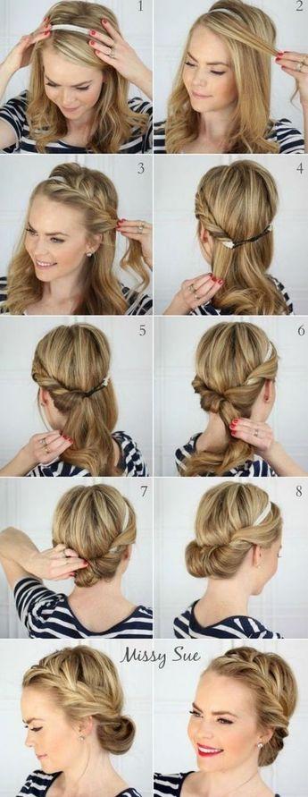Les plus belles coiffures à faire avec un headband et un foulard ! - Les Éclaireuses