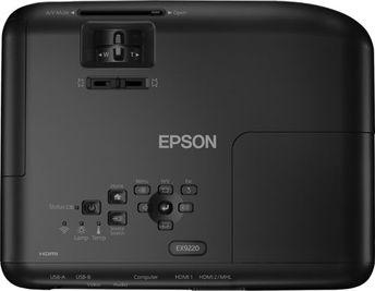 Epson - Pro EX9220 1080p Wireless 3LCD Projector - Black