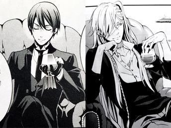 Black butler, Kuroshitsuji, Vincent Phantomhive, Diedrich,