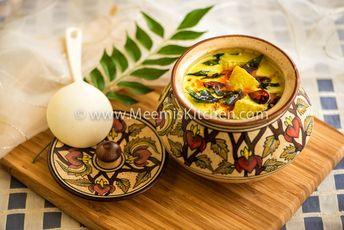 Kumbalanga Moru Curry (Ash Gourd