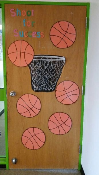Sports Themed Door - Classroom Decor