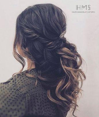 #halfup #twist #hair #updo #prom #homecoming #redcarpethair #editorial #modern #vintage #beauty #wedding #bridal #bride #bridesmaid #specialoccasion #hairandmakeupbysteph