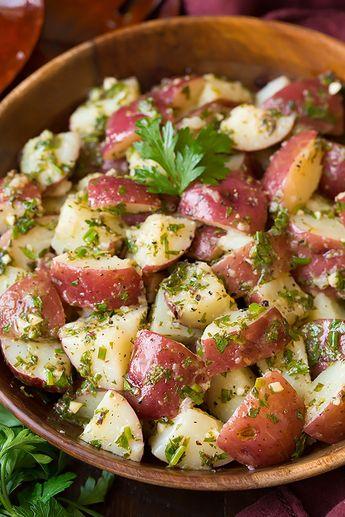 Garlic Herb Potato Salad   Cooking Classy