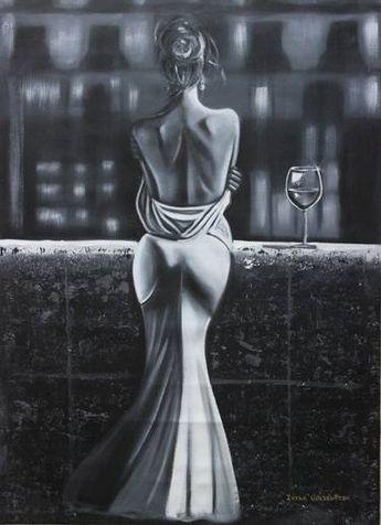 White nights Painting by Irina Goldenfish