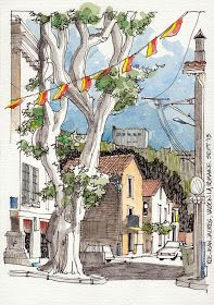 JR Sketches: Luberon, France 2013 2 - Set 2013