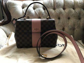 ee7c0bffaca46 Details about Authentic Louis Vuitton Pochette Cosmetic Pouch Damier N47516  C0058
