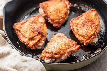 Crispy Skin Chicken Thighs