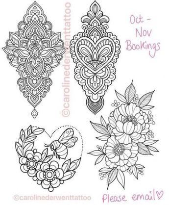 Recently Shared Mandalas Tatuajes Mujer Pecho Ideas Mandalas