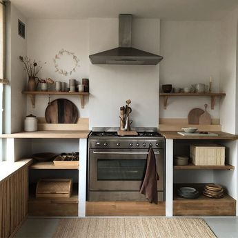 Wooden kitchen design ideas #smallwoodenkitchendesignideas