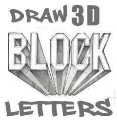 How To Draw I Love You In 3d Graffiti Letters With Narratio