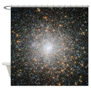 Hubble Deep Space View Shower Curtain by CoolBedding