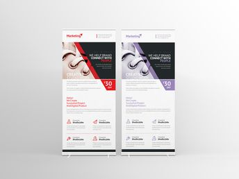 Prometheus Corporate Roll-Up Banner Template