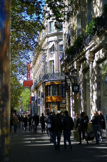 Les rues de Paris | boulevard des Capucines | 2�me et 9�me arrondissement