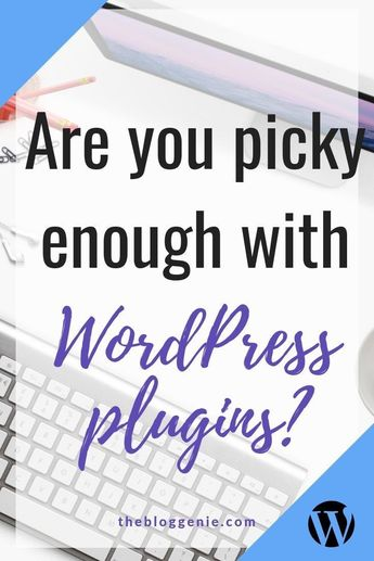For most of us, the choice of plugins is why we choose to use WordPress. You name it, chances are there are at least a handful of plugins that will do it. But not all plugins are created equal, and do you really need ALL the plugins? Check out this post where I get into the nitty gritty of wordpress plugins #thebloggenie #wordpress #plugins