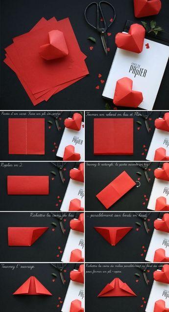 Los corazones de papel pueden ser una buena opción para representar el amor que sientes por alguien, así que esta vez creamos hermosos corazones de origami