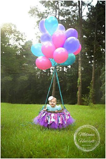 Hot Air Balloon 1st Birthday High Chair Banner, High Chair Tutu, First Birthday Banner, 1st Birthday Banner