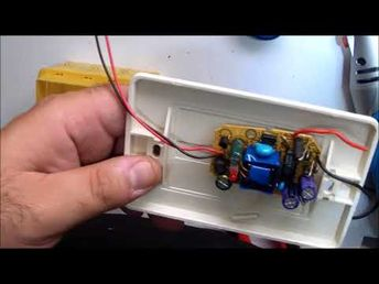 DIY wall mounted USB socket  presa USB da muro fai da te