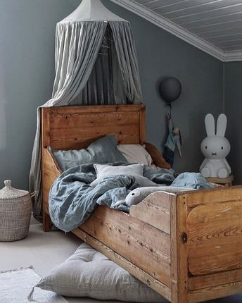 How lovely is this kid's room! Miffy lamp available at www.istome.co.uk