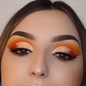ORANGE EYESHADOW  #eyeshadow #orange