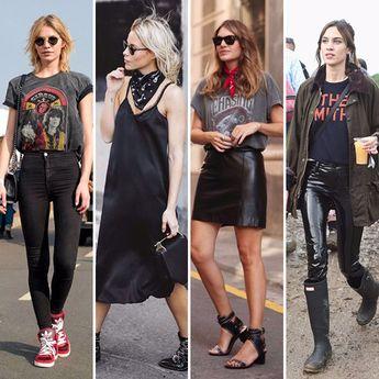 6 sinais de que sua alma fashion é do rock