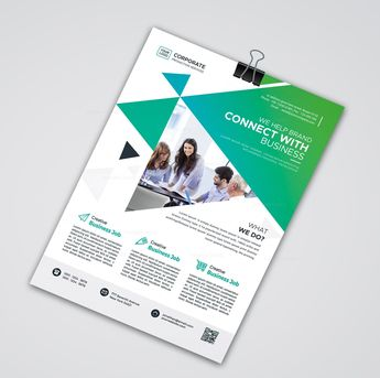 Print Modern Flyer Design - Graphic Templates