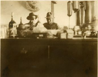 """Vintage Photo """"Having a Drink"""", Photography, Paper Ephemera, Snapshot, Old Photo, Collectibles - 0073"""
