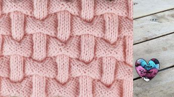 Point briques 3D Lidia Crochet Tricot