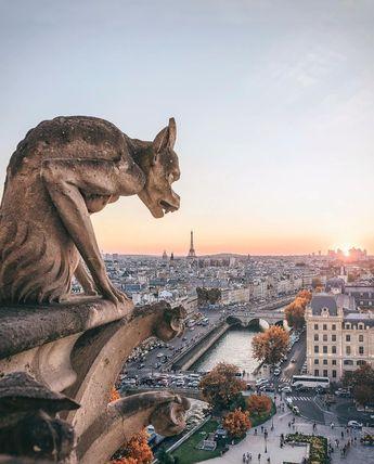 Massive Fire Ravages Paris Notre-Dame Cathedral