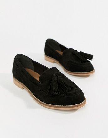 d148d376289 DESIGN Messenger suede tassel loafers