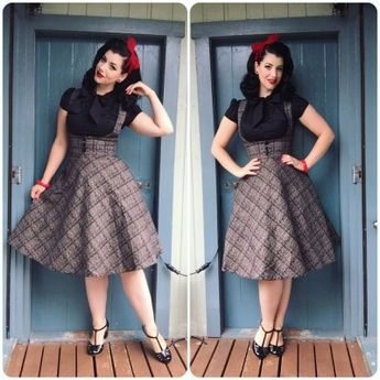 70 cute casual retro dresses inspired women's style (88)