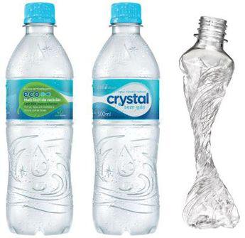 Crush the bottle!
