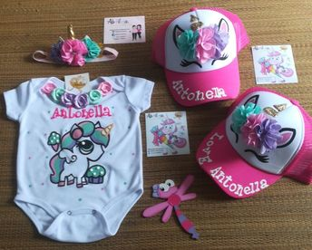 Mameluco personalizado unicornio Gorras personalizadas unicornio Abilia  Shopping Whatsapp 3132196957 eb3ac1ee7a7