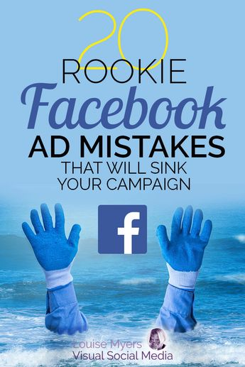 Want to create the best Facebook ads to market your business? CLICK for free mini training! Choose the best ad type, avoid mistakes, and save time and money. Don't sink your next ad campaign! | #LouiseM #SmallBusinessTips #FacebookMarketing #FacebookAds #FacebookPages #SMM #SocialMediaMarketing