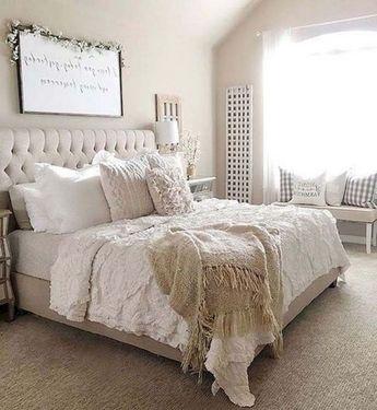 45 Stunning Rustic Farmhouse Master Bedroom Ideas