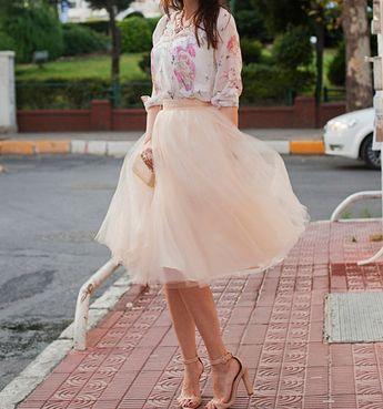 La jupe en tulle rose {parfaite pour un mariage}