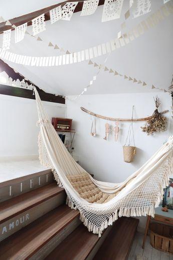 La maison à la déco nature et slow life d'Emilie Chou fleur