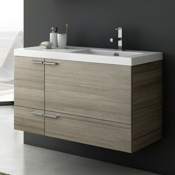 39 Inch Vanity Cabinet With Fitted Sink