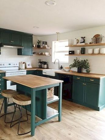80+ Favorite Colorful Kitchen Decor Ideas And Remodel for Summer Project